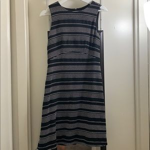Ready to work dress-black and white
